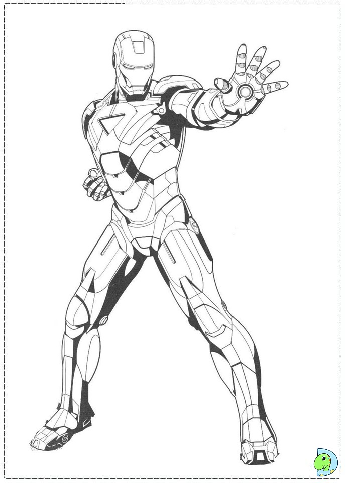 Related Pictures heroes iron man coloring pages