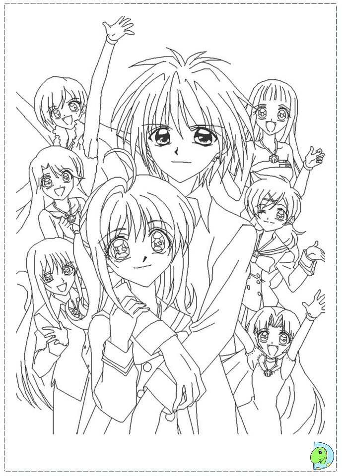 mermaid melody free coloring pages - photo#21