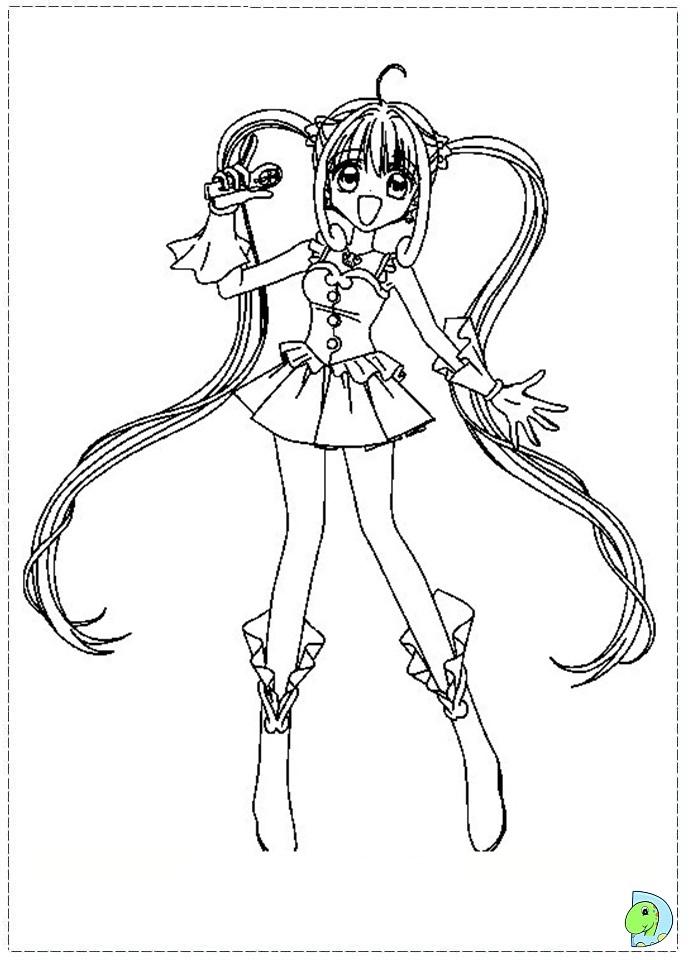 Mermaid Melody coloring page DinoKidsorg