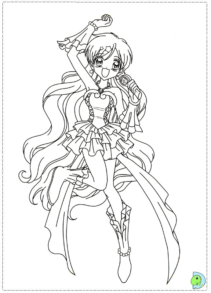 chibi melody coloring pages - photo#3