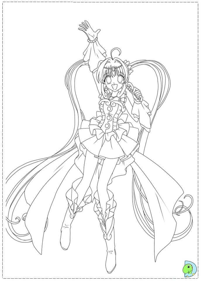chibi melody coloring pages - photo#5