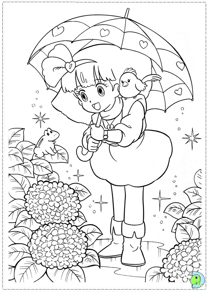 dinokids manga coloring pages - photo#5