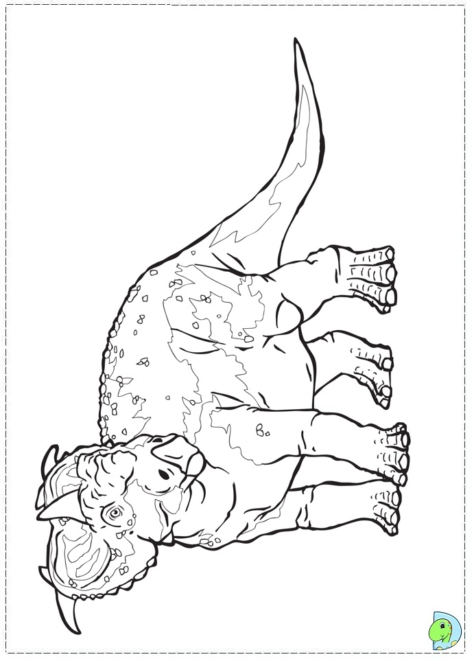 walking with dinosaurs coloring pages - photo #29