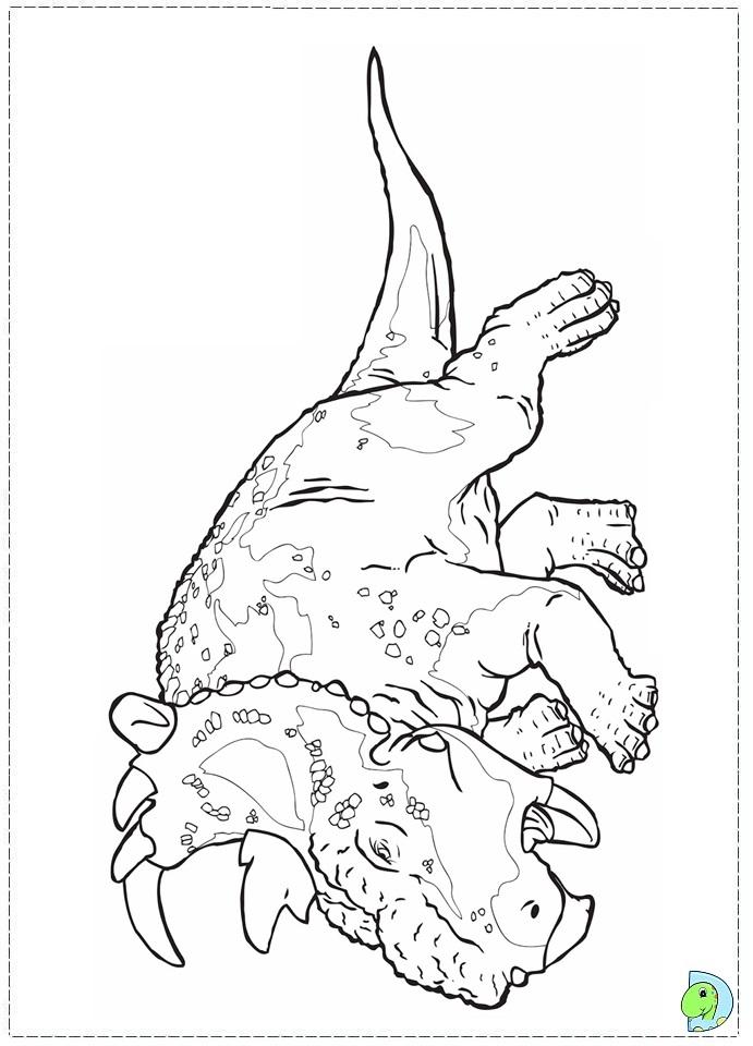 Walking With Dinosaurs Coloring Page DinoKidsorg