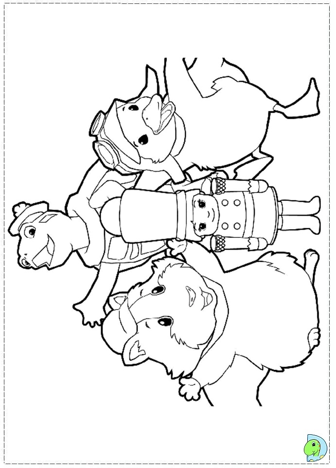 wonder pets free coloring pages - photo#24