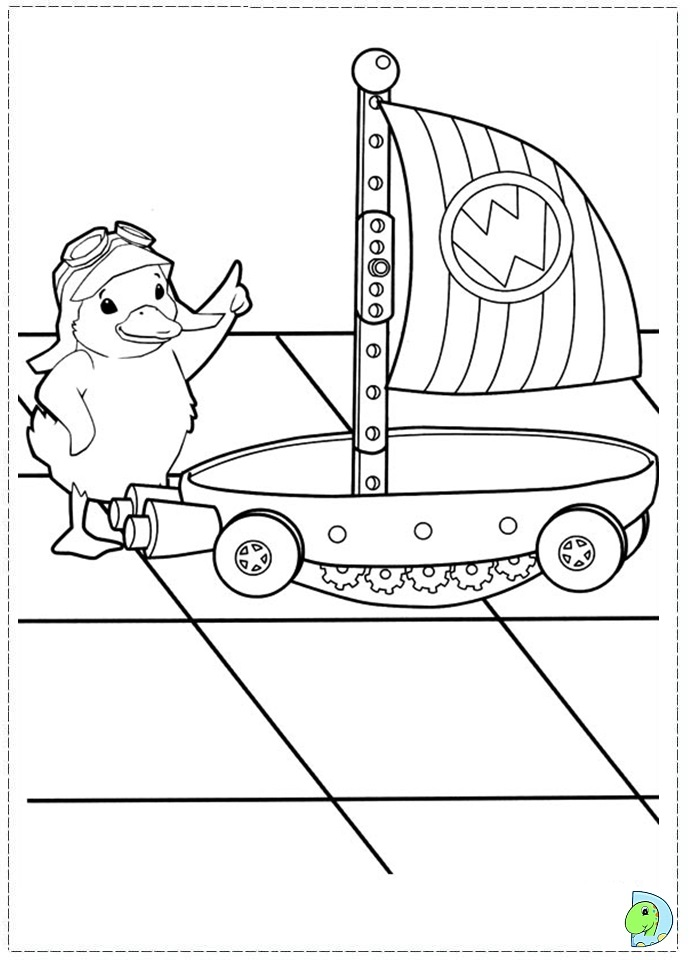 wonder pets free coloring pages - photo#29