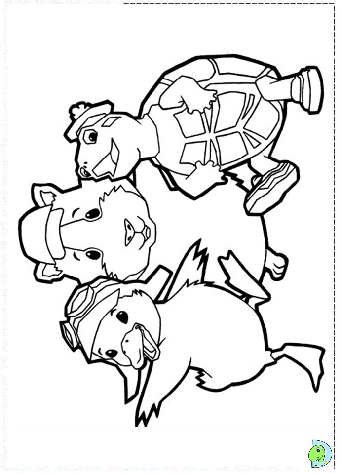 wonder pets free coloring pages - photo#9