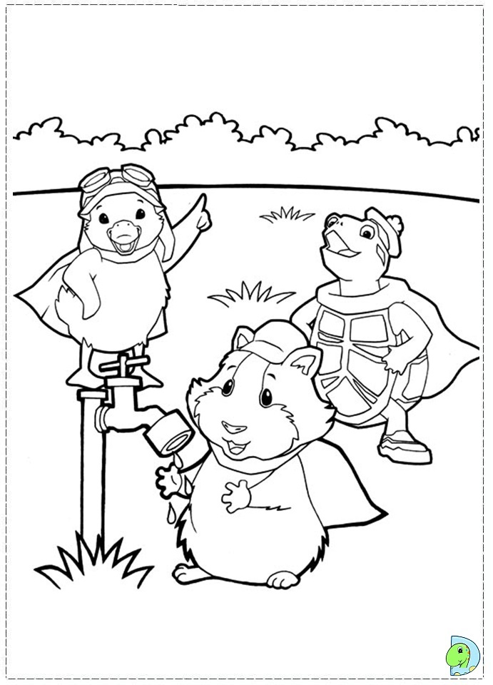 wonder pets free coloring pages - photo#19