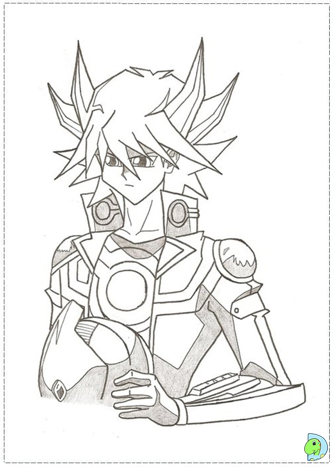Free Yugioh Monsters Coloring Pages Yugioh Coloring Page