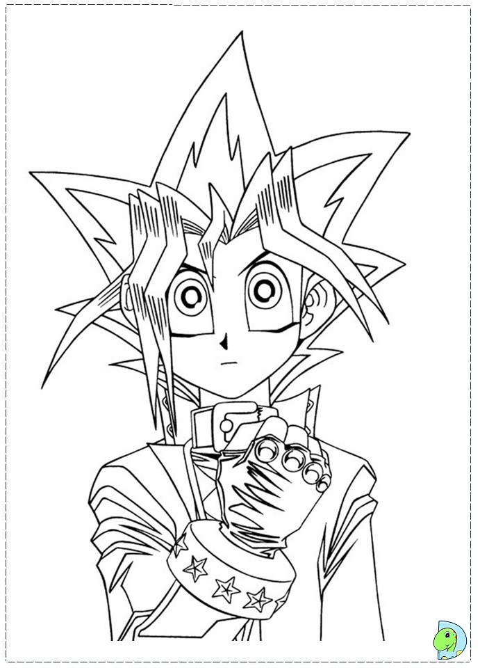 - Yu Yu Hakusho Coloring Pages