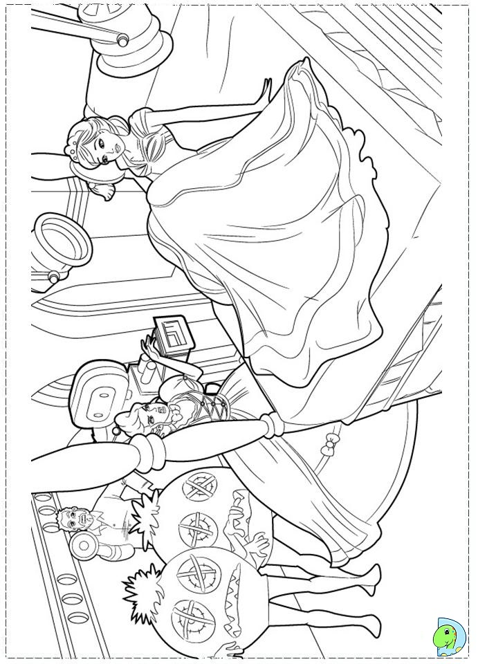 Barbie fashion colouring pages page 2