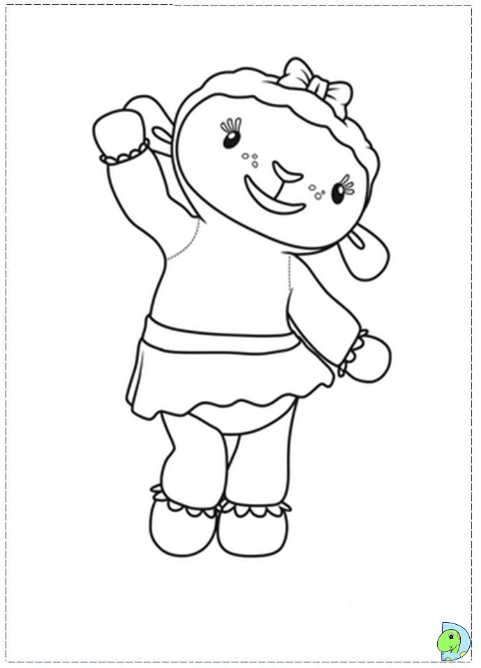 doc mcstuffins logo coloring pages - photo#13