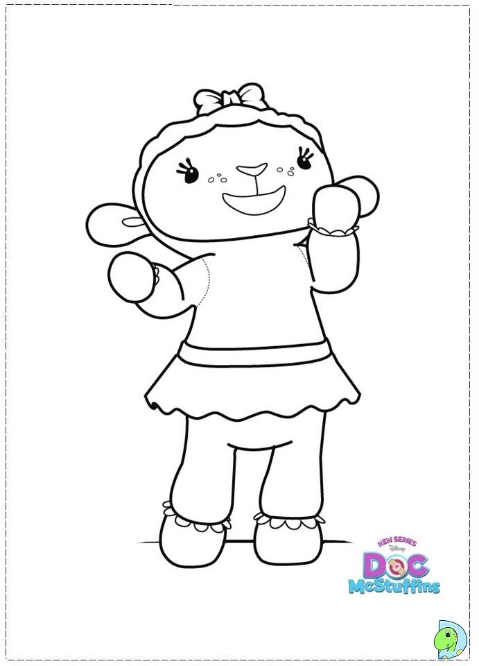 doc mcstuffins free coloring pages - photo#36