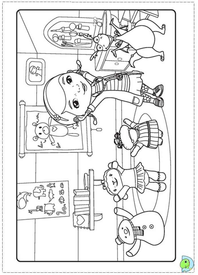 Free Coloring Pages Of Mcstuffins