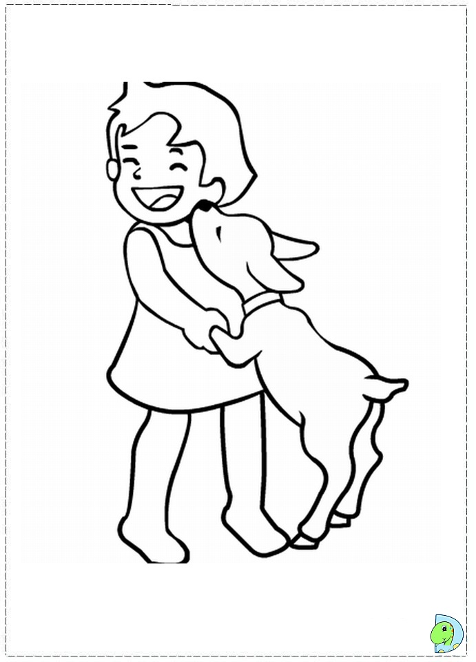 Heidi Coloring pages- DinoKids.org