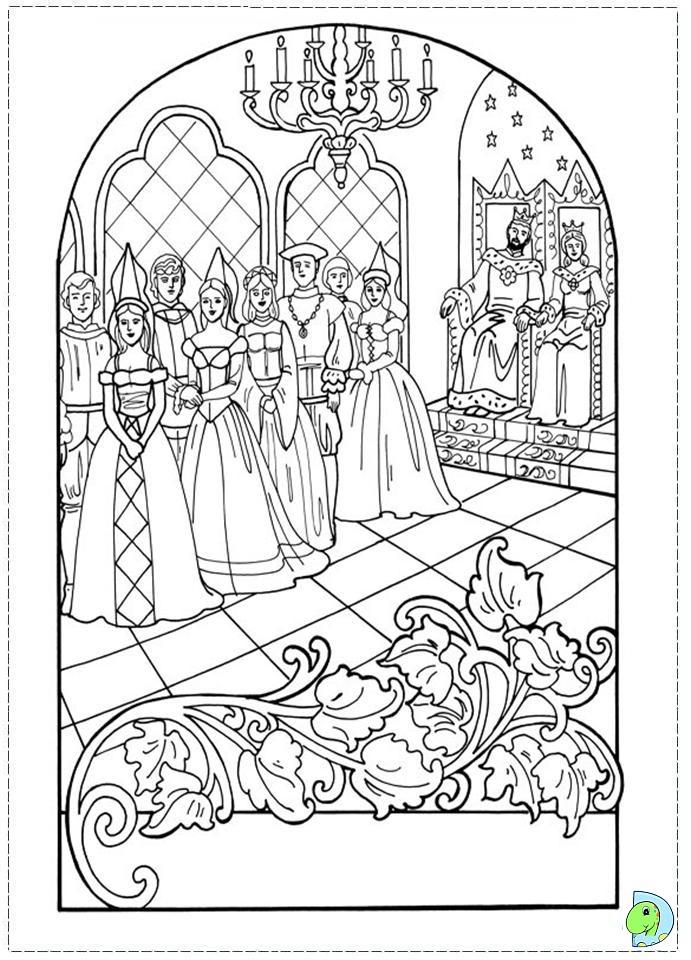 Princess Leonora Coloring Page