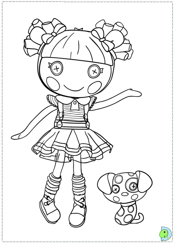 Lalaloopsy coloring pages to print