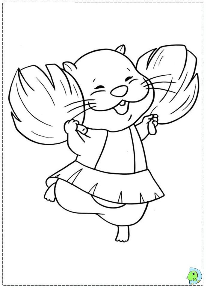 Zhu Zhu Pets Coloring page DinoKidsorg