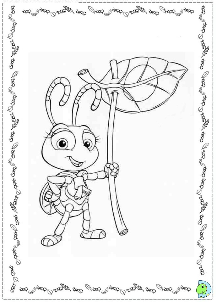 a bugs life coloring book pages - photo #35
