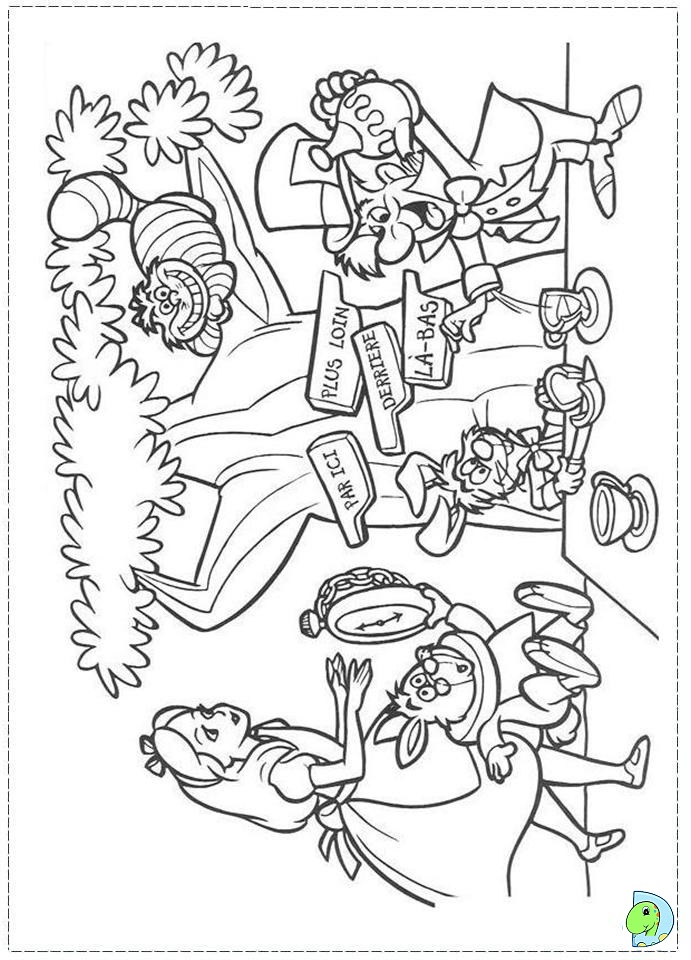 alice in wonderland trippy coloring coloring pages