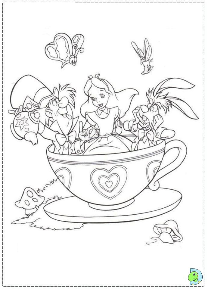 magic kingdom coloring pages - photo#28