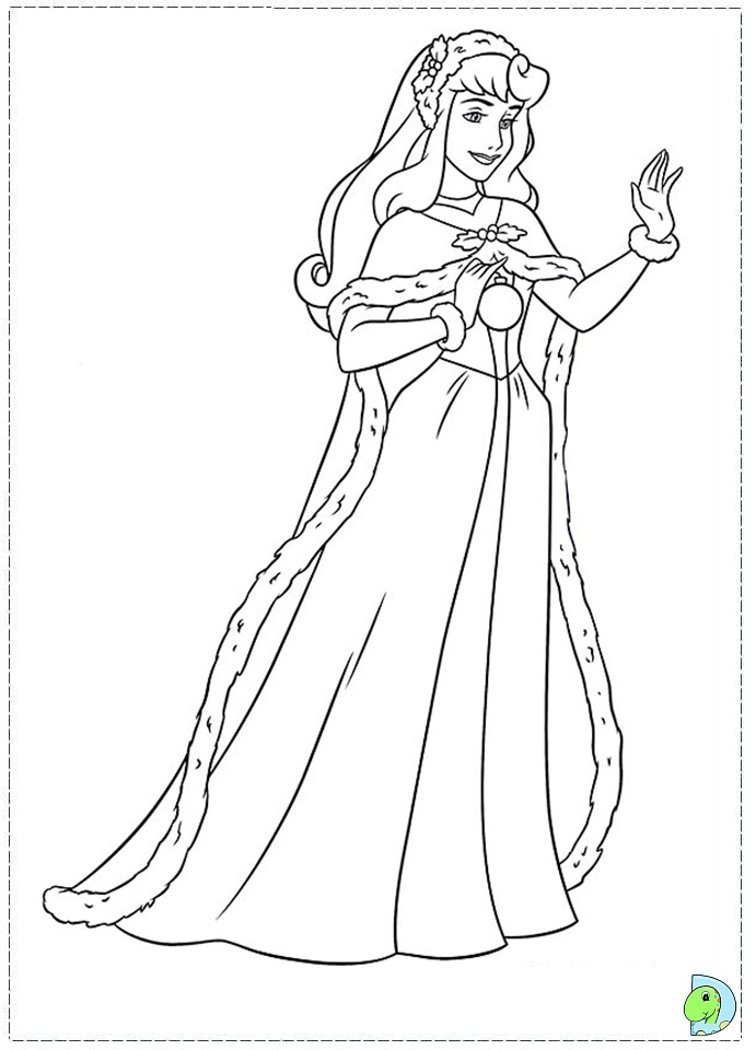 Free coloring pages of disney princess