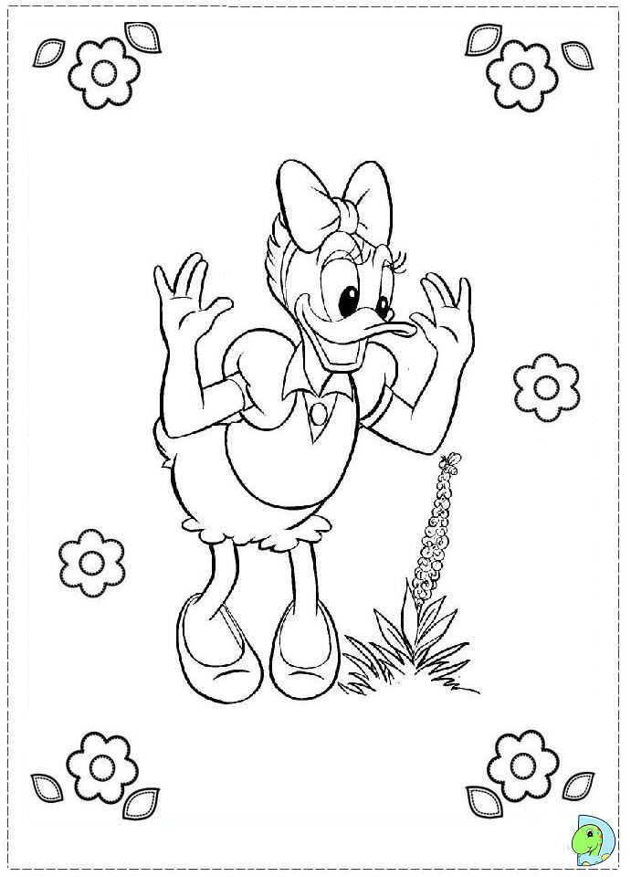baby daisy duck coloring pages - photo#34