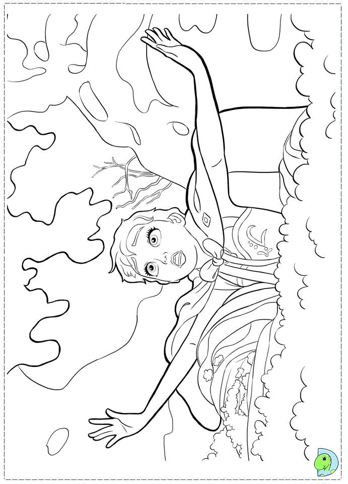 Valentine Coloring Pages Printable Disney Frozen Theme