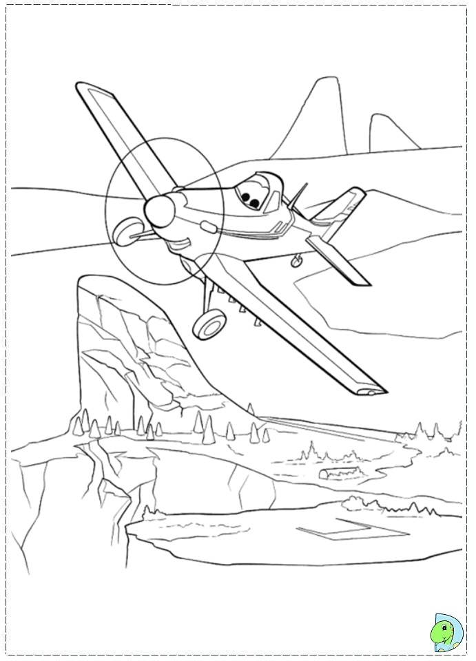 disney planes coloring pages skipper - photo#13