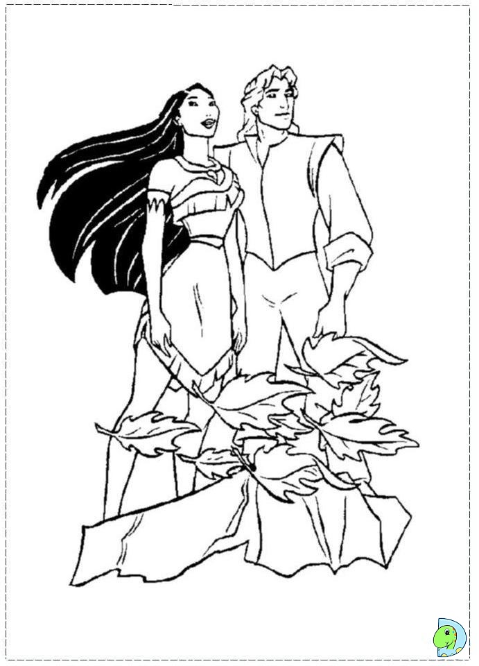 pocahontas disney coloring pages - photo#28