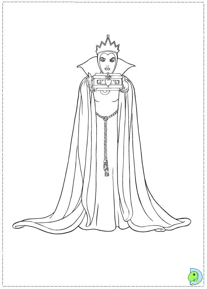 how to draw the evil queen from snow white