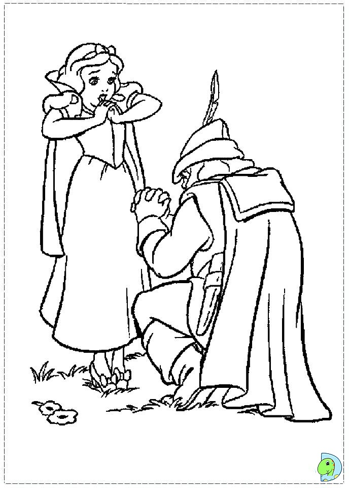 snow white witch coloring pages - photo#30