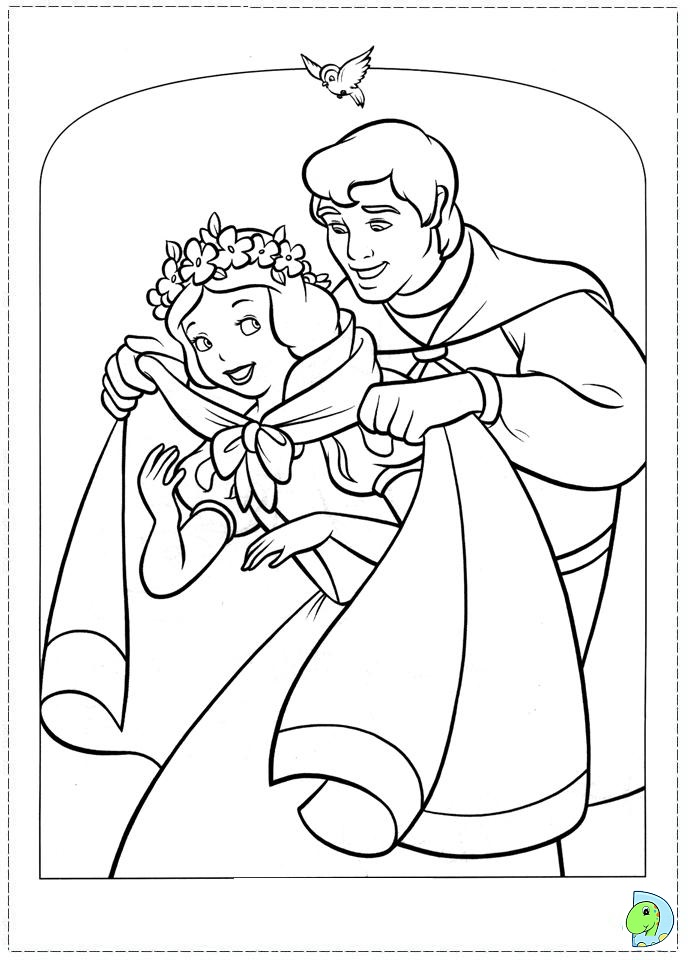 snow white witch coloring pages - photo#10