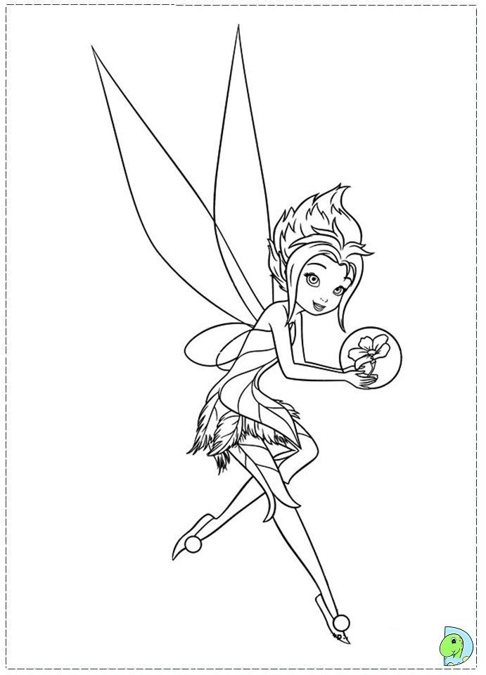 Tinkerbell in The Secret of the Wings coloring pages ...