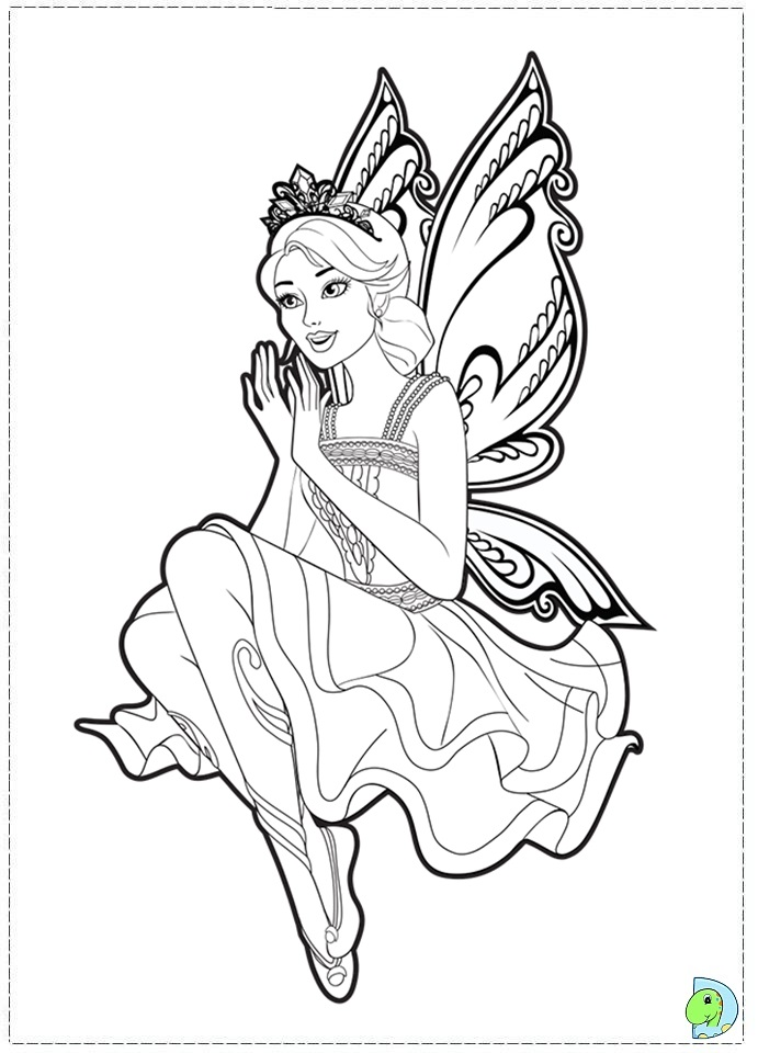farytale princesss coloring pages - photo#3