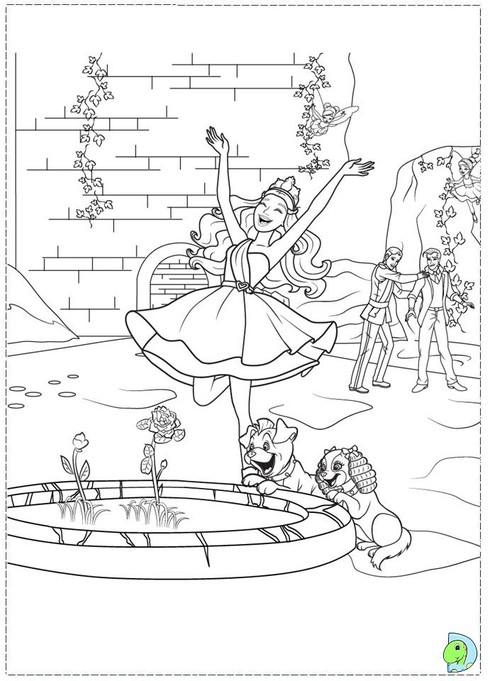 Top 50 Free Printable Barbie Coloring Pages Online | 960x691