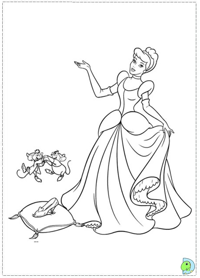 cinderella bruno coloring pages coloring pages