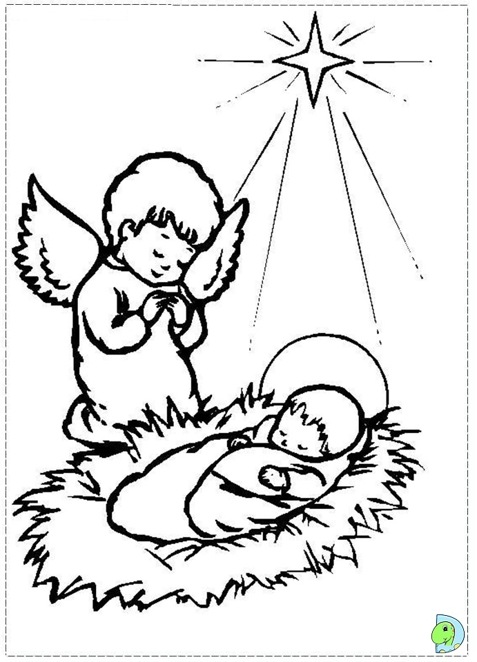 HD wallpapers baby jesus in the manger coloring pages