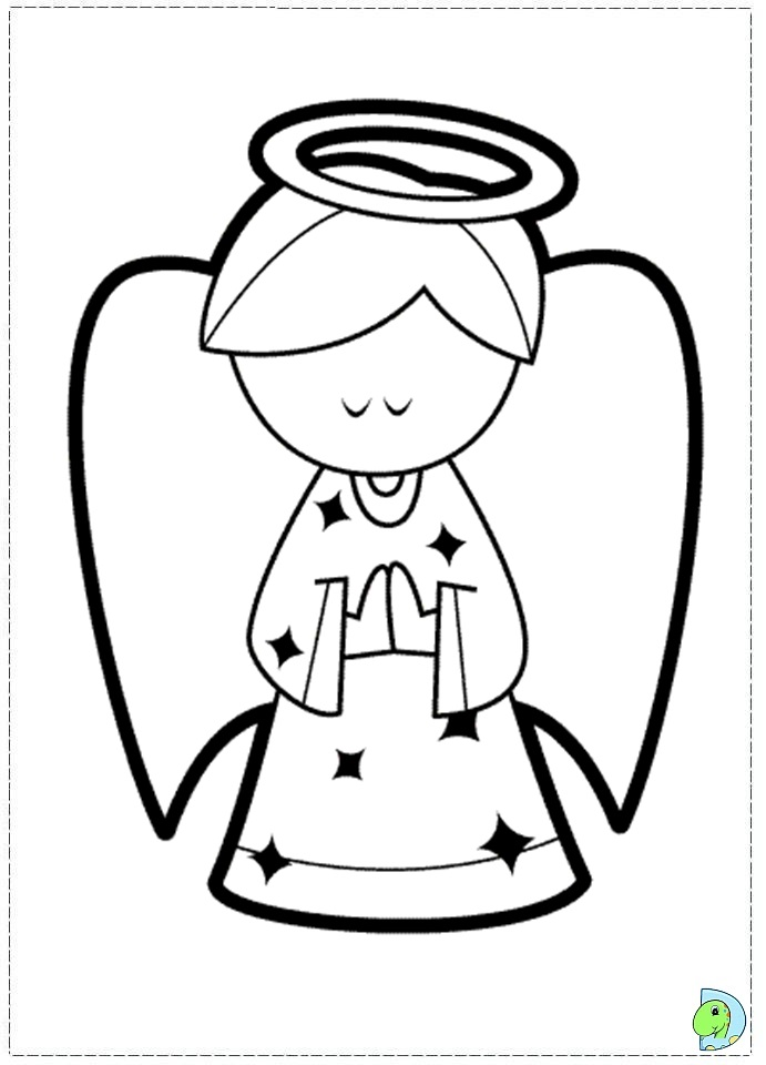 angel coloring page christmas angel colouring page dinokidsorg