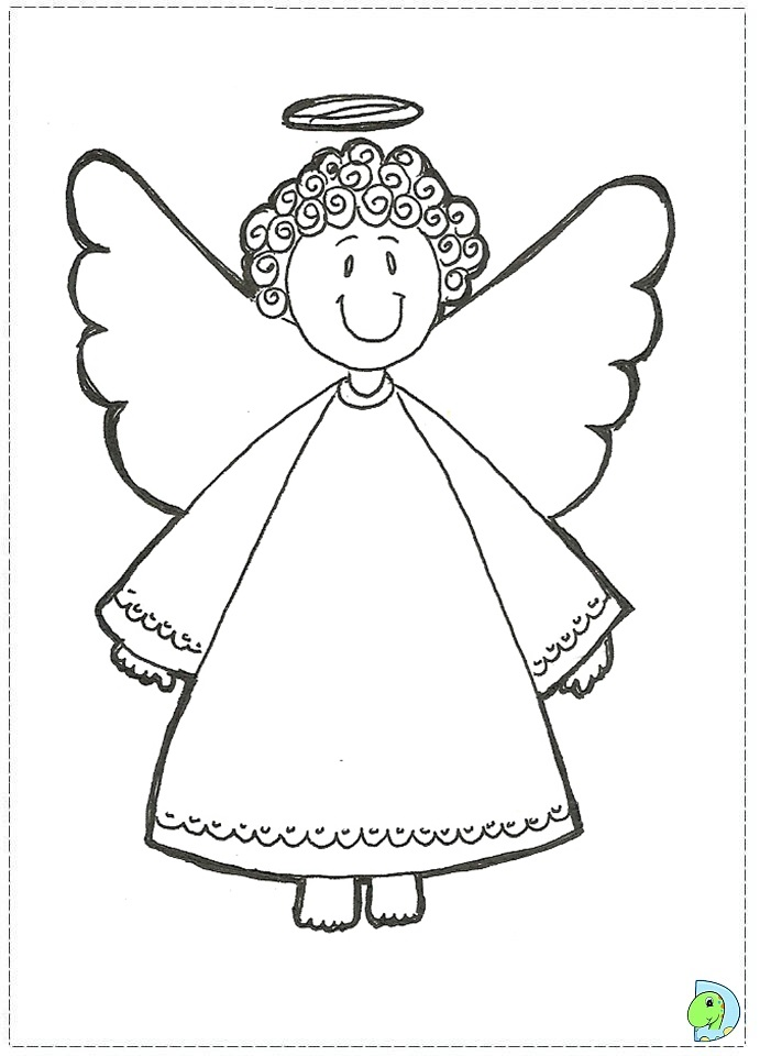 Angle Coloring Pages Angel Coloring Pages Adults - Free Printable ...