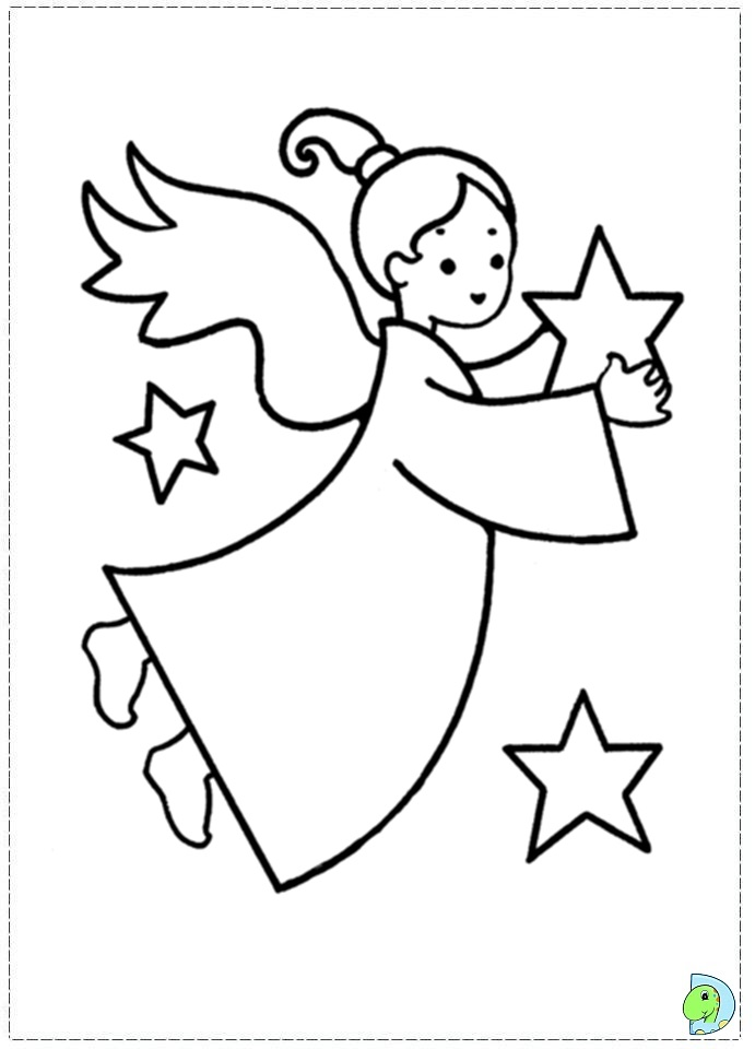 angel coloring page christmas angel colouring page