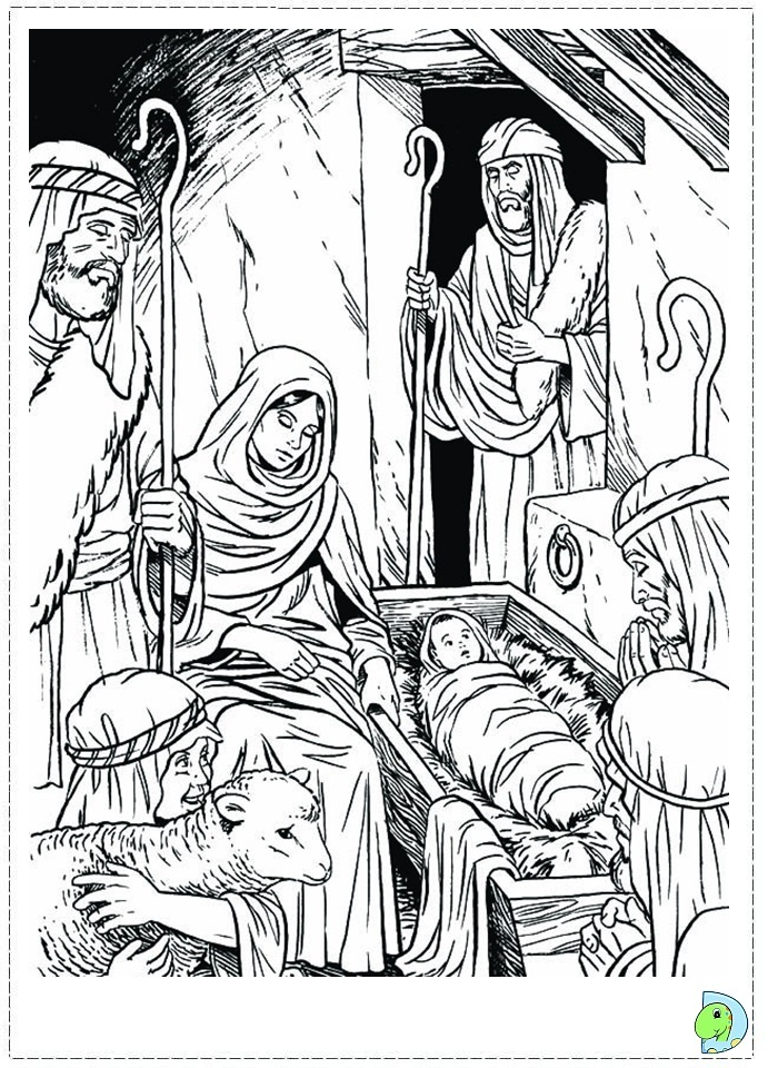Coloring Pages Nativity