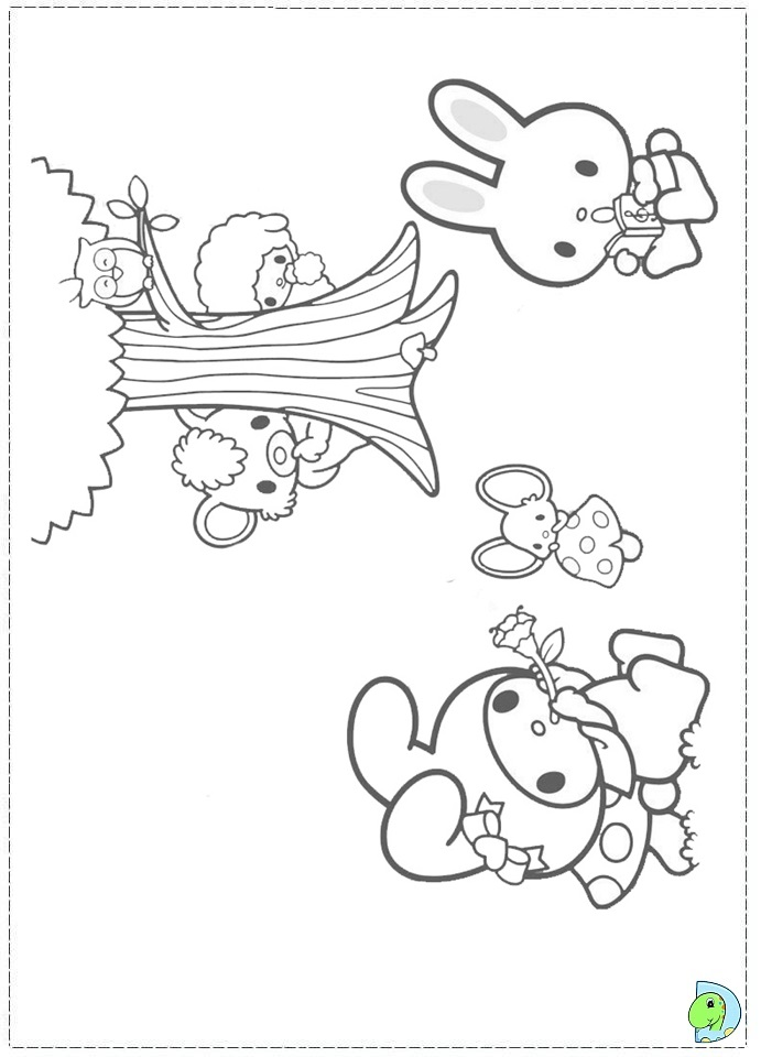 My Melody Coloring page- DinoKids.org