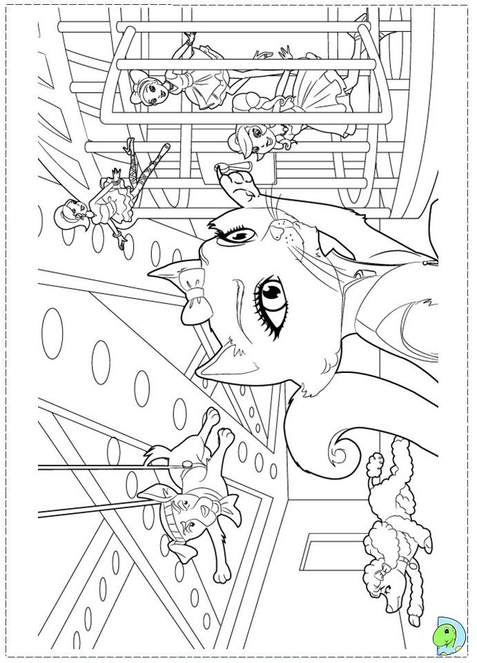 Barbie fashion fairytale colouring pages to print for Barbie a fashion fairytale coloring pages to print